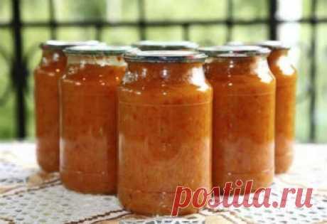 Икра кабачковая с помидорами - рецепт с фото на Повар.ру