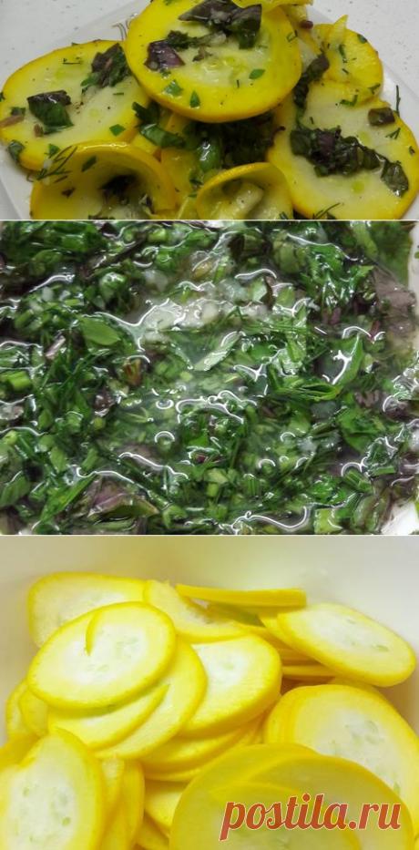 Салат из свежих маринованных кабачков или кабачки за 1 час Автор рецепта Евгения - Cookpad