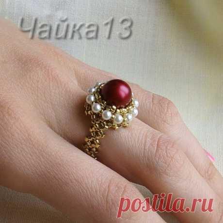 "ring ""Ирина"" \/ Master classes \/ Bead"