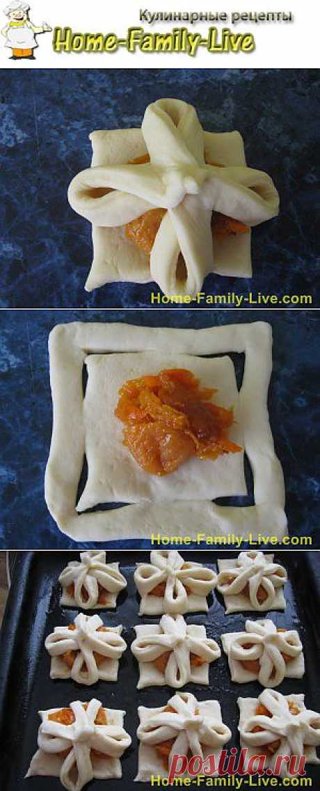 Булочки с курагой -рецеп булочки с курагой и морковью   Кулинарные рецепты