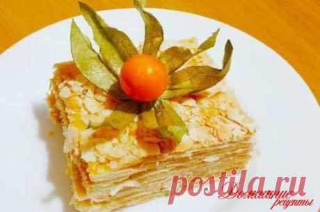 Тортик Наполеон нельзя именовать обычным и прытким блюдом...