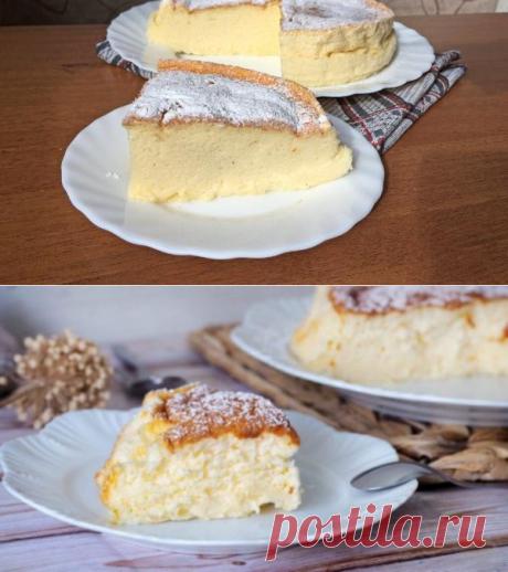 Нежнейший йогуртовый пирог из 4х ингредиентов: простейшая выпечка без муки и масла - be1issimo.ru