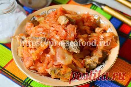Тушеная капуста со свининой - вкусный домашний рецепт В этой статье расскажем и покажем, как приготовить вкусный ужин из капусты из мясом - тушеная капуста со свининой. Вкусно, быстро и просто!