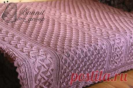 BEAUTIFUL PLAID (Knitting by spokes) | Inspiration of the Needlewoman Magazine