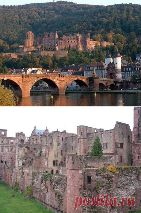 Гейдельбергский замок, Германия — Путешествия