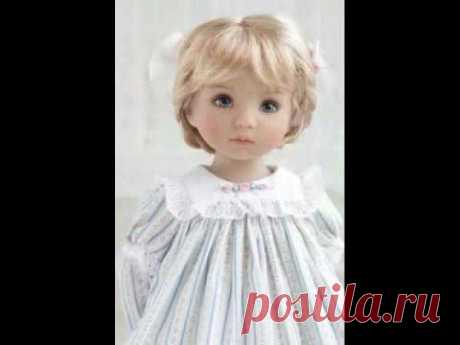 Little Darling doll by Dianna Effner. Hairstyle and outfit prepared AlenaTailorForDoll