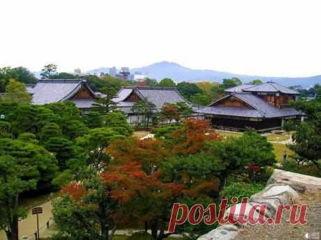 Сады замка Нидзё