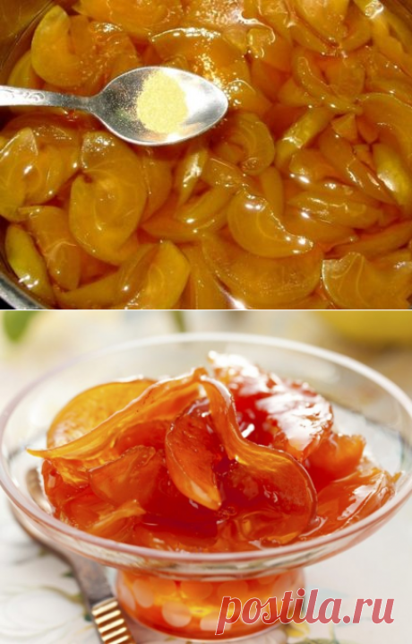Яблочное варенье дольками янтарное — 7 рецептов