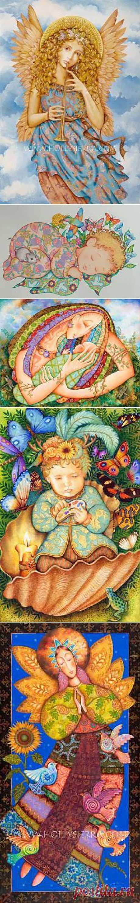 Американская художница Sierra Holly - Галерея искусств - Для души - Статьи - Школа радости