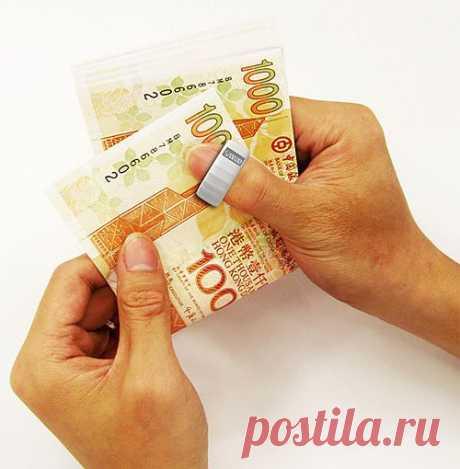 Кольцо для подсчёта денег | Обзоры интересных гаджетов