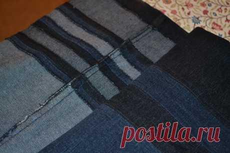 Мастер-класс по удлинению джинсов