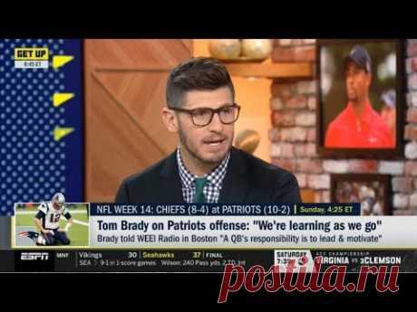 "ESPN GET UP | Dan Orlovsky SHOCKED by Tom Brady on Patriots offense: ""We're learning as we go"""