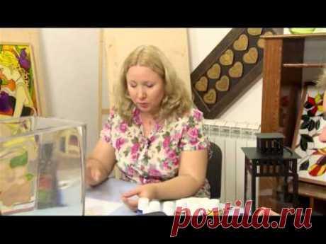 Витражная роспись по стеклу. Штучная работа. Выпуск 15