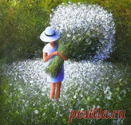 Воспоминия о лете.../ Художник Дима Дмитриев (Dima Dmitriev)