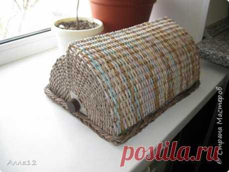 Плетение хлебниц мастер класс