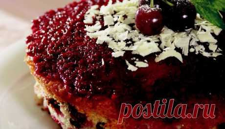 Вишневый Торт Как сделать рецепт вишневого торта? Вишневый торт рецепт приготовления, вишневый торт трюки и шаг за шагом повествования на столе!