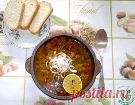 Солянка по-грузински от Ильи Лазерсона – кулинарный рецепт