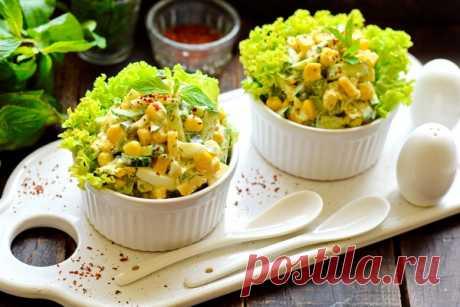 Салат «Одесса» – сочно, нежно, сытно (в общем – вкуснейший, хотя и без мяса)