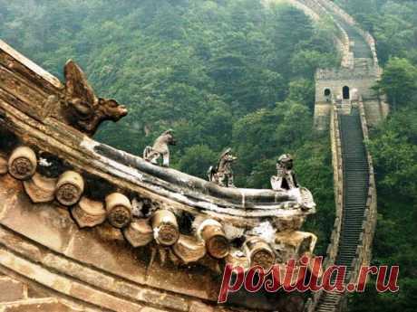 Легендарная постройка тысячелетия: Великая Китайская стена