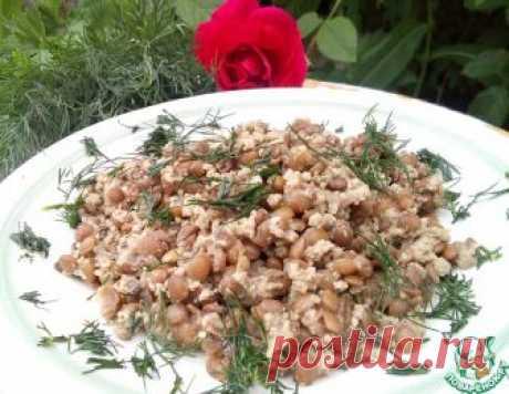 Чечевица с мясом и зеленью – кулинарный рецепт