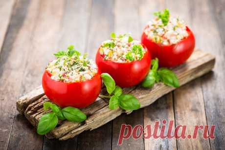 Фаршируем овощи | Официальный сайт кулинарных рецептов Юлии Высоцкой