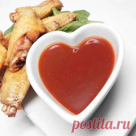 Сладко-острый соус к куриным крылышкам Сладко-острый соус к куриным крылышкам - пошаговый кулинарный рецепт приготовления с фото, шаг за шагом.