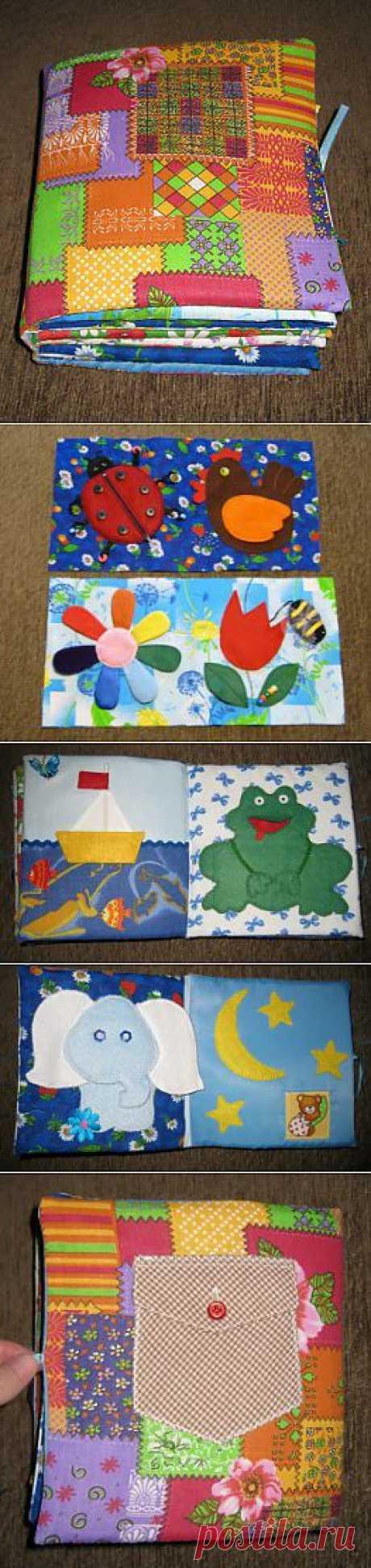 Дневник рукодельницы » Blog Archive » Развивающая книжка для малыша