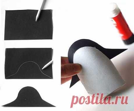 Пингвины из картонных рулонов | OK.RU