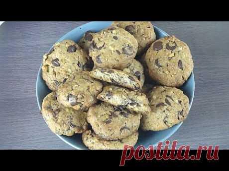 15 Минут в Духовке, 15 Минут на Столе Очень Вкусное Шоколадно-Ореховое Песочное Печенье