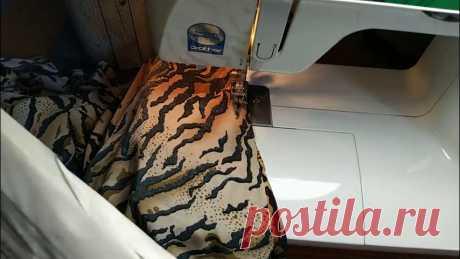 Как на обычной швейной машинке прострчить трикотаж