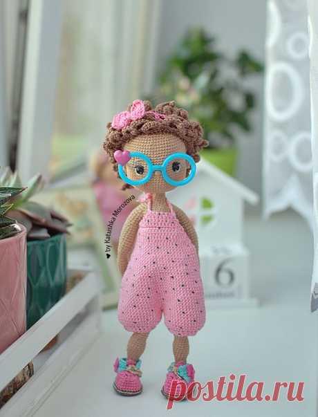 Crochet DoLL PATTERN, AMIGURUMI doll pattern, English
