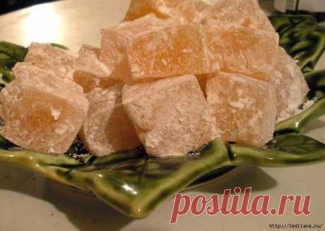 Рахат лукум - восточное лакомство, которое легко приготовить и самому | Четыре вкуса