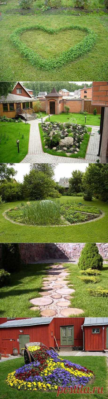 Дачный газон | Дача, дом