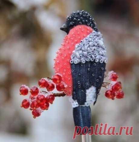 Волшебные брошки в виде птиц: идеи — Сделай сам, идеи для творчества - DIY Ideas