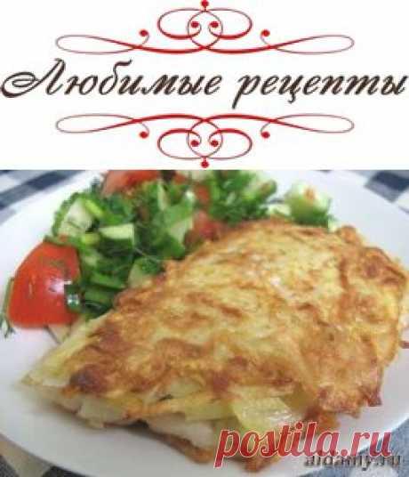 Рыба в картофельной корочке » Любимые рецепты