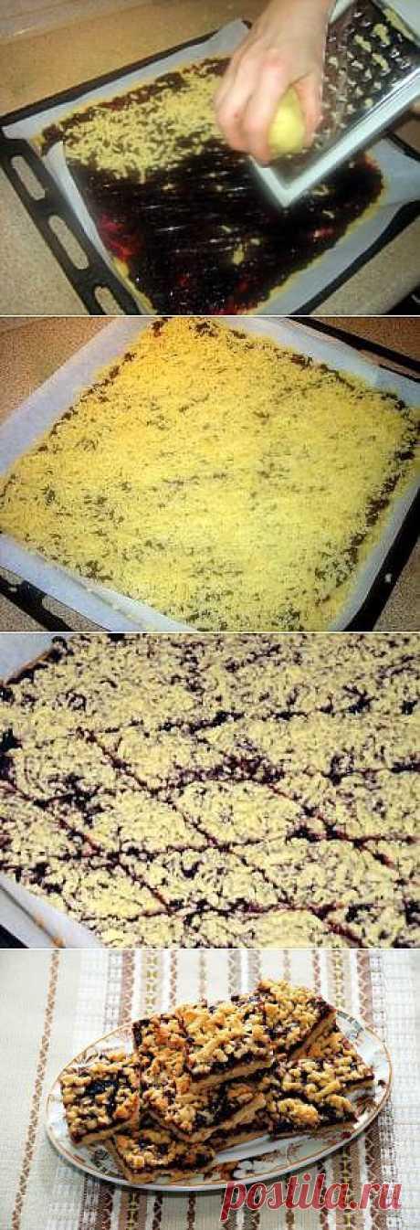 Готовим дома Тертый пирог. Пошаговые фото Рецепт Сергея Джуренко