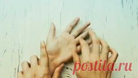 Massage of hands