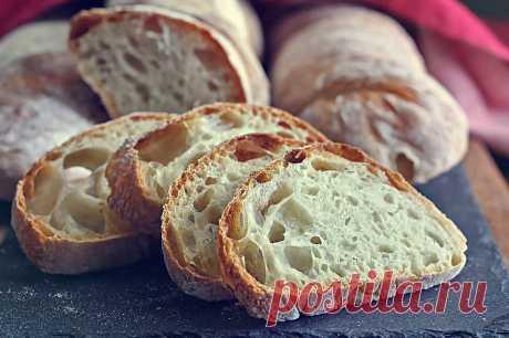 Как испечь домашний хлеб чиабатта с большими дырками в духовке Приготовив хоть раз домашний хлеб чиабатта по нашему рецепту, Вы больше не будете его п