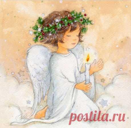 Ангельские иллюстрации :angel:
