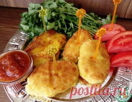 Котлеты картофельно-сырные – кулинарный рецепт