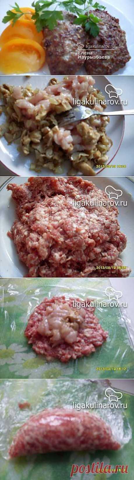 Зразы с куриной грудкой и грибами – рецепт с фото от Лиги Кулинаров, пошаговый рецепт