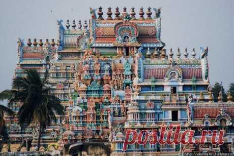 Южная Индия и 5 ее чудес .