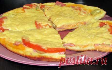Справитесь за 10 минут: домашний рецепт аппетитной пиццы на скорую руку