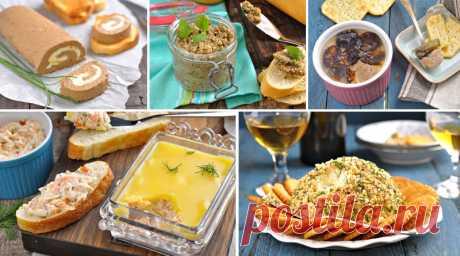 5 рецептов обалденных паштетов: Идеальная закуска быстрого приготовления