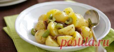 Картофель, тушенный с оливками и лимоном . Милая Я