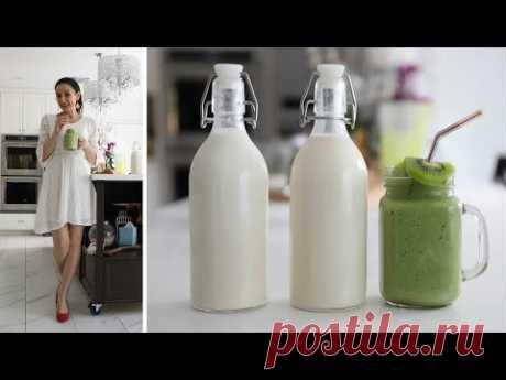 Как Приготовить Овсяное Молоко - Рисовое Молоко - Зелёный Смузи - Рецепт от Эгине - Heghineh