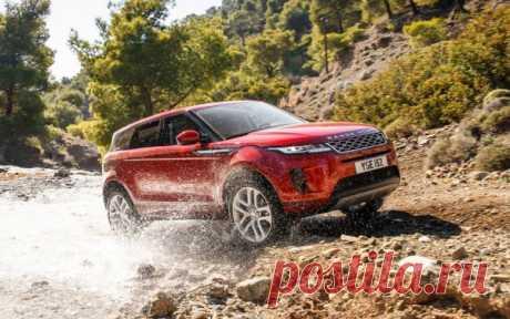 Range Rover Evoque 2019 в России - цена, фото, технические характеристики, авто новинки 2018-2019 года