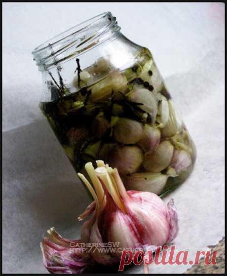 Laboratory of taste: Чеснок-конфи