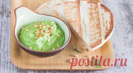 Зеленый хумус , пошаговый рецепт с фото