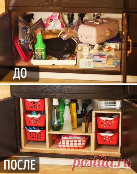 Идеи организации пространства в доме для поддержания порядка — Полезные советы